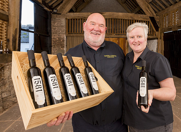 VINEYARD HOPES 1581 IS A GOOD YEAR FOR FIRST WELSH FORTIFIED WINE