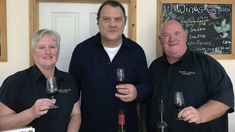 White Castle Vineyard welcomes Sir Bryn Terfel