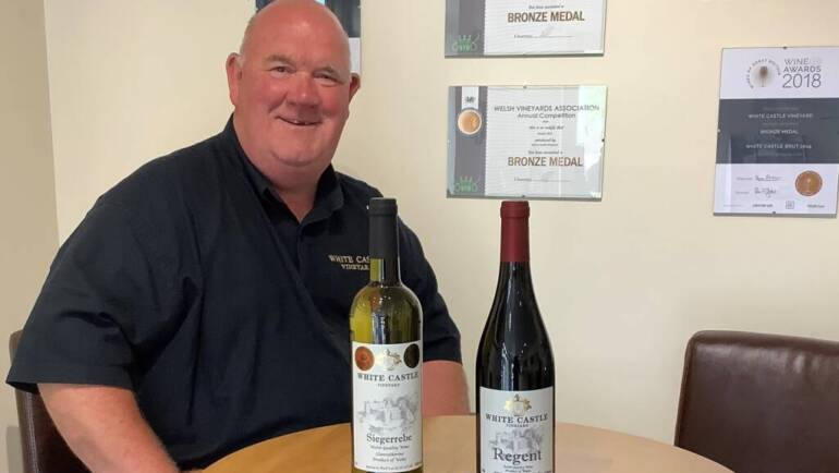 Wales Week / Berkshire's Welsh Wine Tasting Evening with White Castle Vineyard
